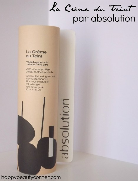 la creme du teint absolution
