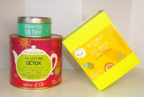 thés detox