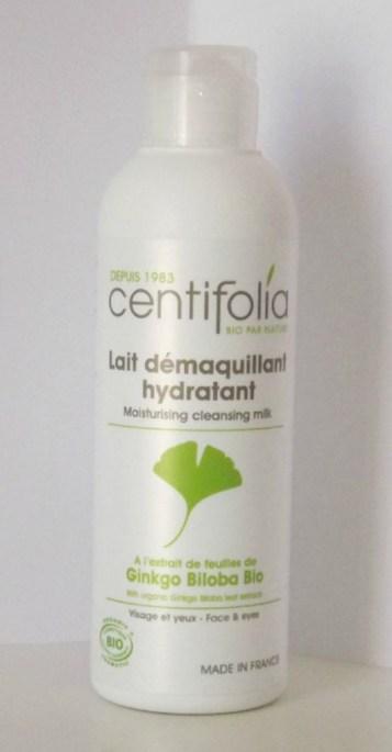 lait demaquillant centifolia