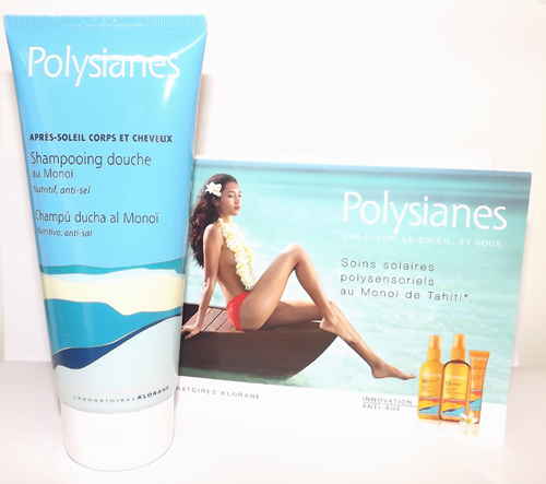 polysianes shampooing douche