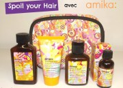 Spoil your Hair avec amika et Wishlist de Noël Birchbox