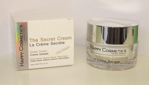 creme secrete happy cosmetics