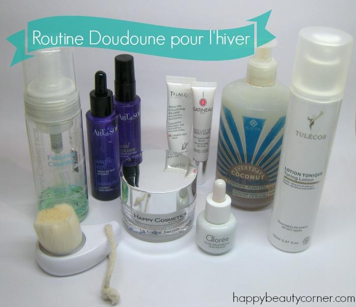 Routine Doudoune pour peaux sensibles