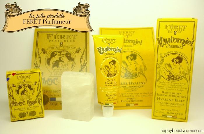 Les jolis produits Féret Parfumeur
