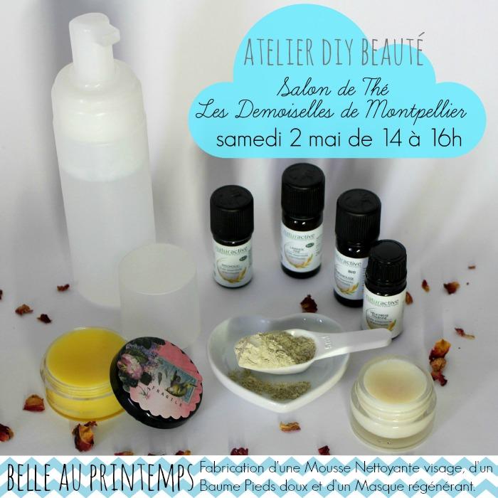 Atelier DIY Beauté avec Naturactive & Les Demoiselles de Montpellier