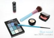 Oser le bleu avec la palette Love in Paris de Nyx