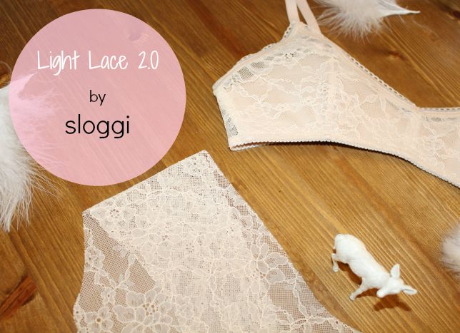 sloggi light lace ensemble