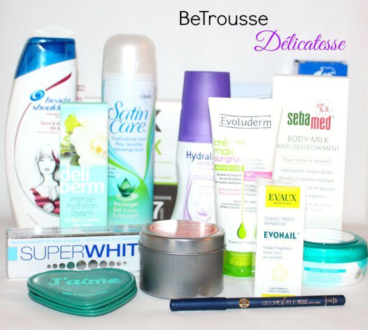 BeTrousse Délicatesse : Cocooning et remise en forme !