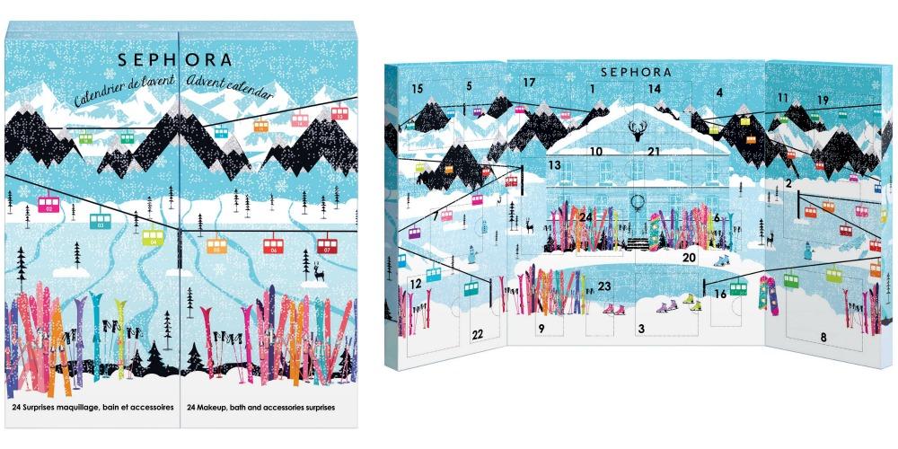 calendrier avent sephora 2015