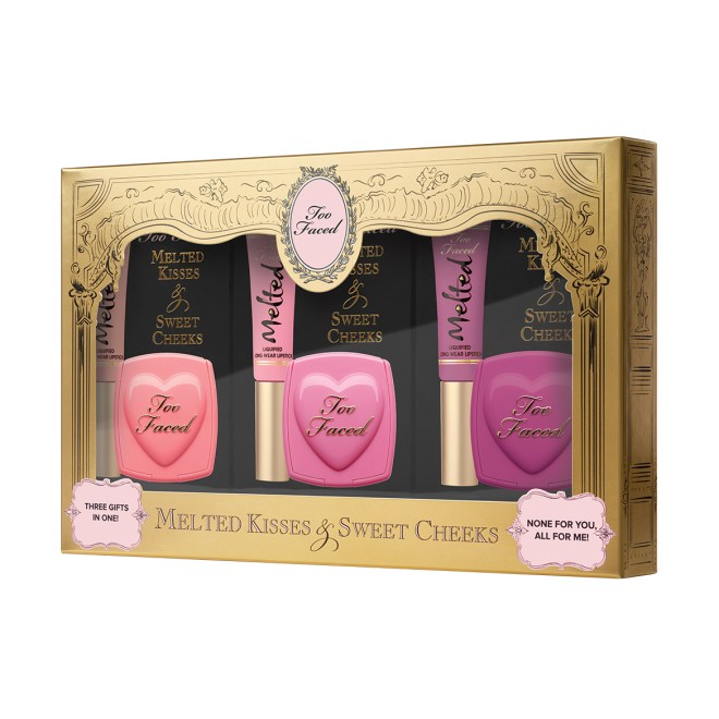 coffret love flush melted