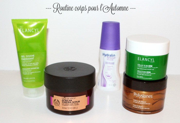 routine corps automne
