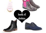 Boots et Derbies d'amour pour l'hiver !