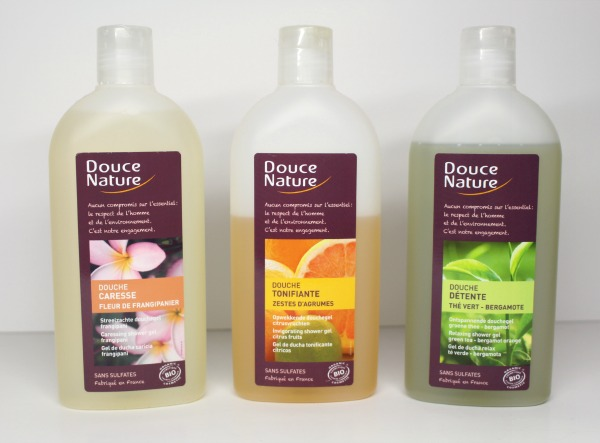 douce nature gel douche