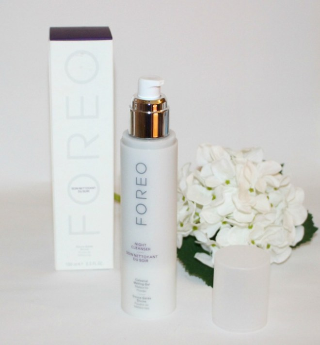 foreo night cleanser