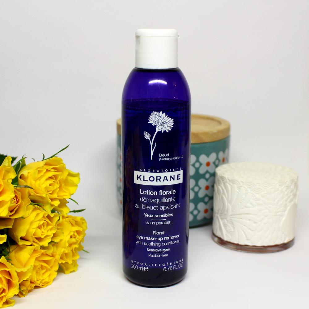 lotion florale bleuet klorane
