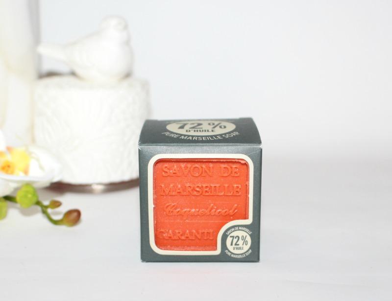 savon de marseille coquelicot