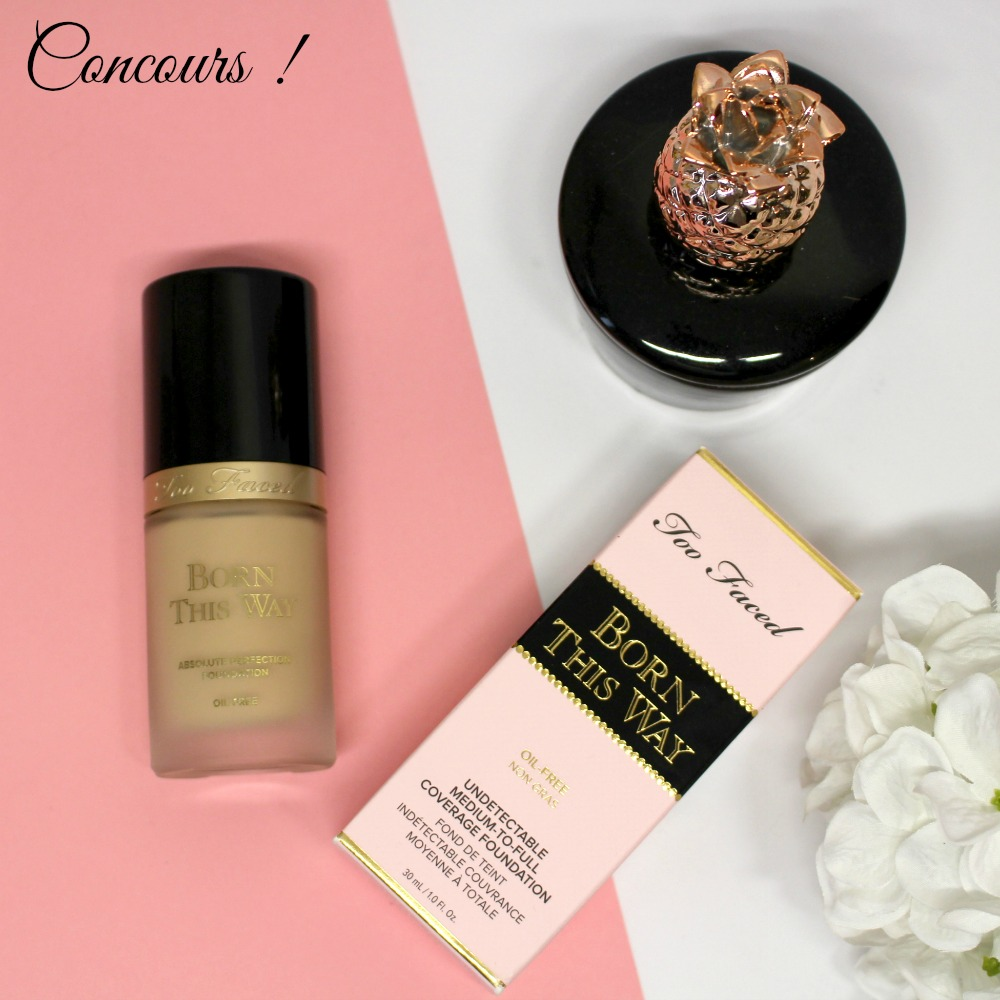 concours too faced fb