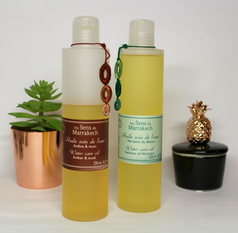 huile soin de l'eau
