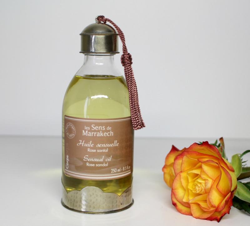 les sens de marrakech rose santal