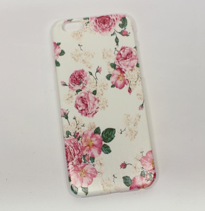 coque iphone fleurie