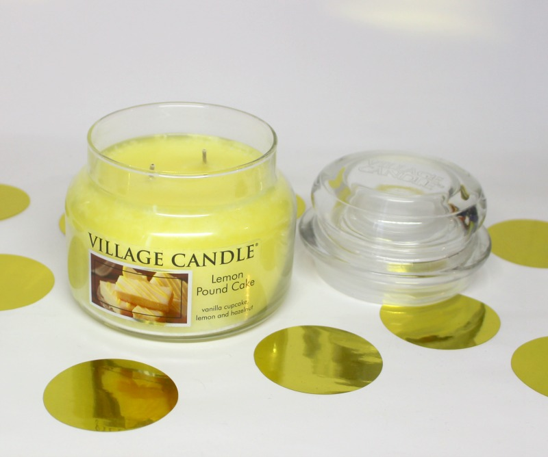 village candle bougie citron