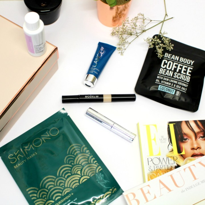 Look Fantastic Beauty Box d'Octobre Indulge Me !