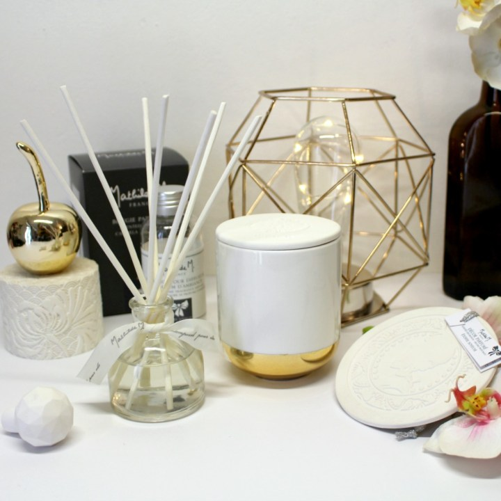 Les Trésors parfumés pour la Maison de Mathilde M. (Concours inside)