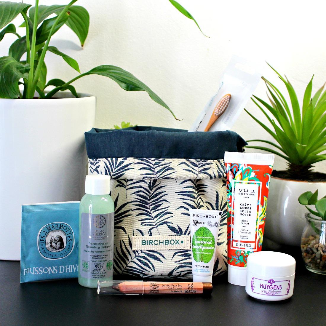 Passer à la Beauté Green avec la Birchbox !