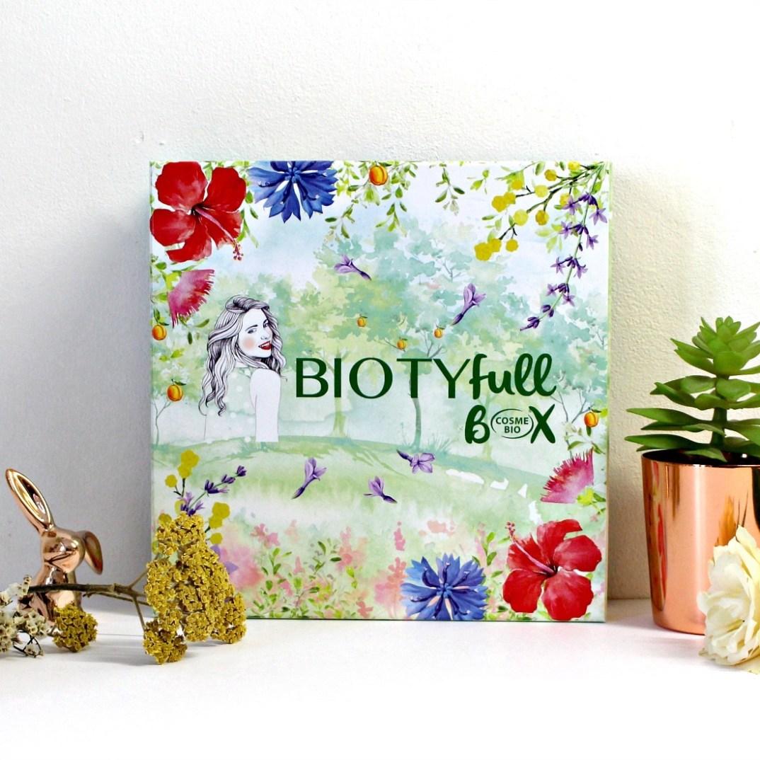 Mon avis sur la Biotyfull box 100% Cosmébio d'Avril 2019