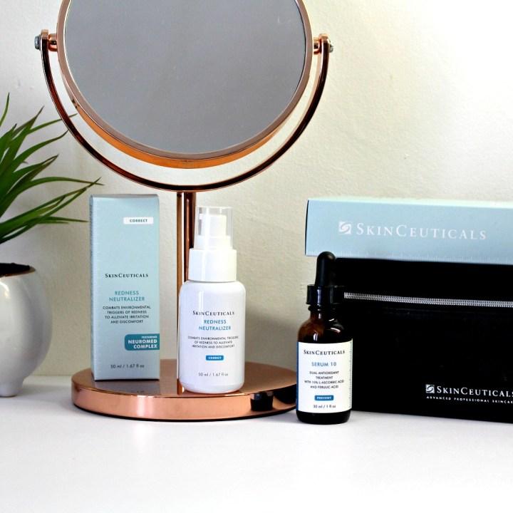 Mon Test des soins Skinceuticals : ma routine visage