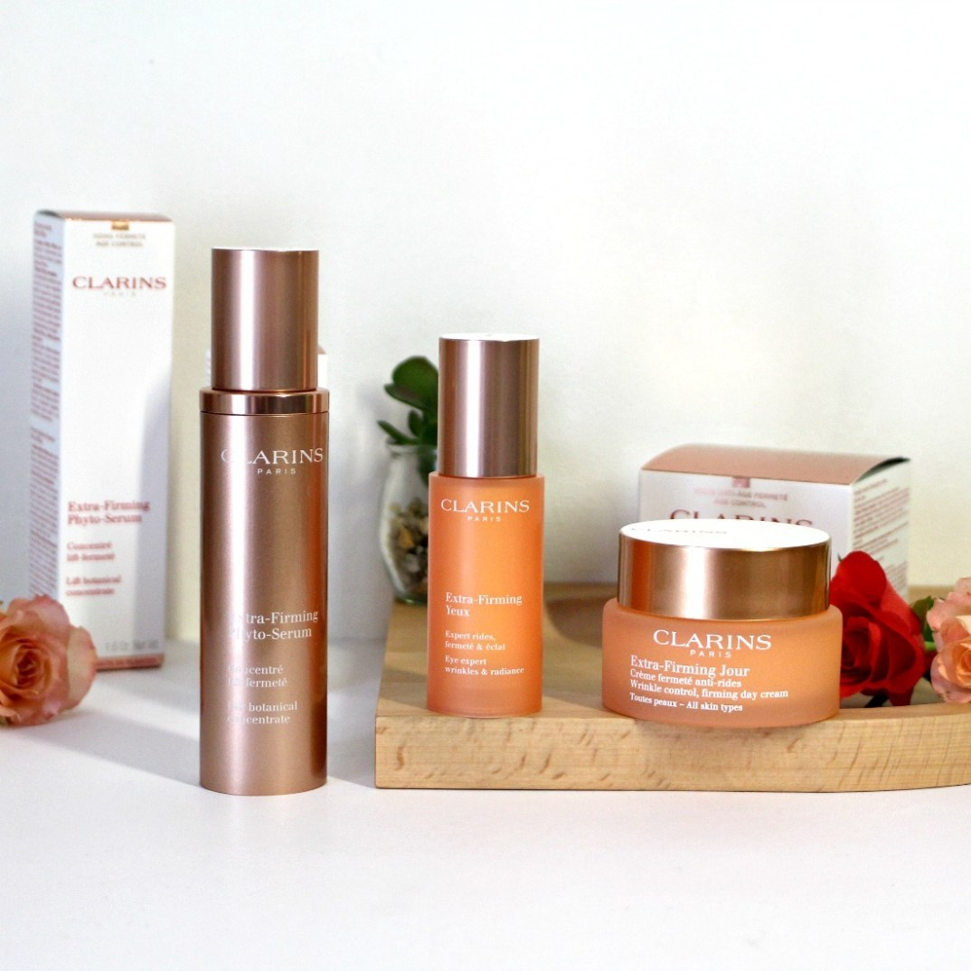 routine anti age clarins