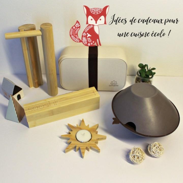 3 Idées de cadeaux écolos pour les gourmands !