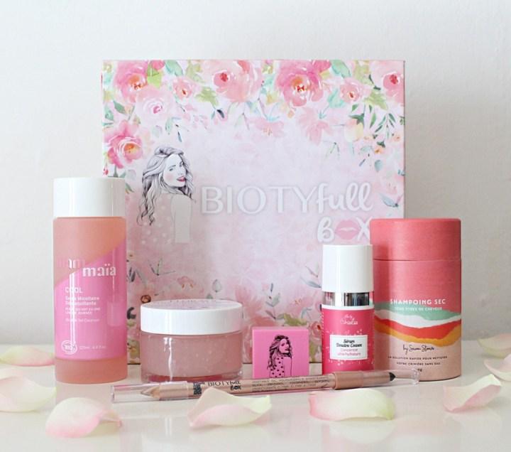 Biotyfull box La Rosée : une box autour de la rose !