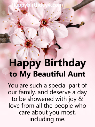 Happy Birthday Aunt | Happy Birthday Aunty Wishes - Happy ...