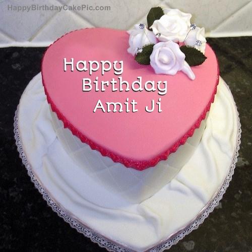 birthday cake for amit