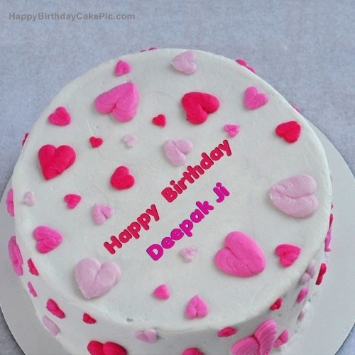 Birthday Cake Images With Name Deepak The Cake Boutique