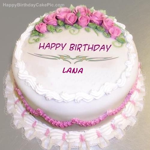 Happy Birthday Name Cake
