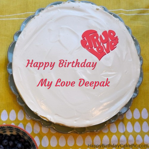 Happy Birthday Cake My Love Deepak Cake Recipe