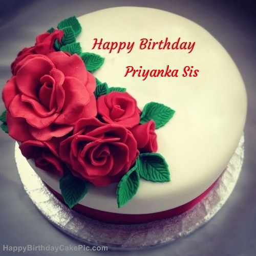 Birthday Cake Images With Name Priyanka The Cake Boutique