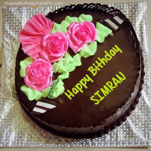 ️ Chocolate Birthday Cake For Simran