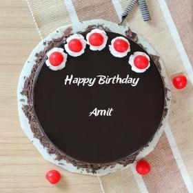 amit happy birthday cakes