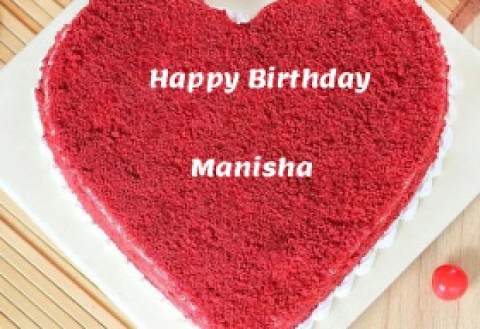 Manisha Happy Birthday Cakes Photos