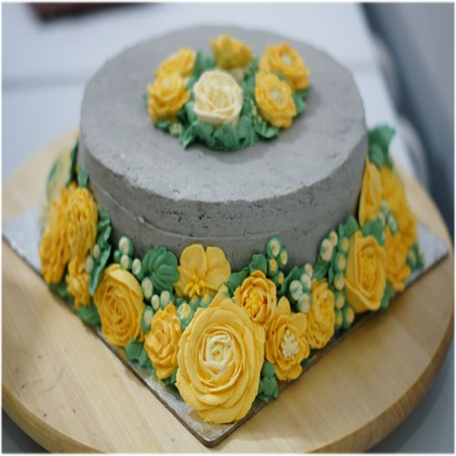 Flower Birthday cake images wallpaperspics pictures photo pics download in hd for whatsapp facebook