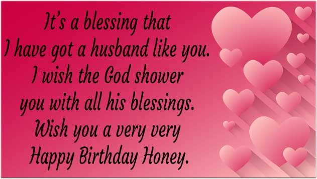 Birthday Wishes For Husband Facebook