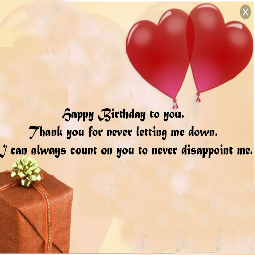 Happy Birthday messages for Husband with photo images