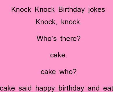 Birthday jokes for kids