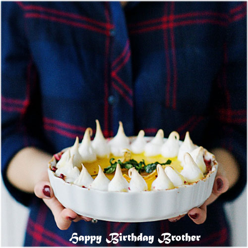 Happy Birthday cake wallpaper photo pics images pictures wish for brother free for whatsapp facebook