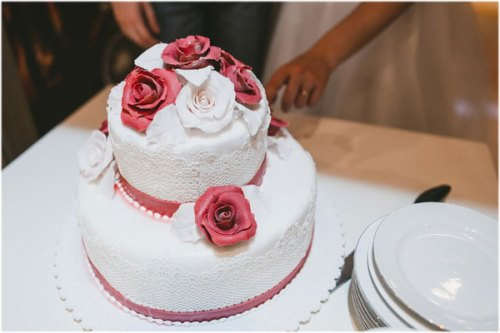 Birthday cake with roses photo images pics