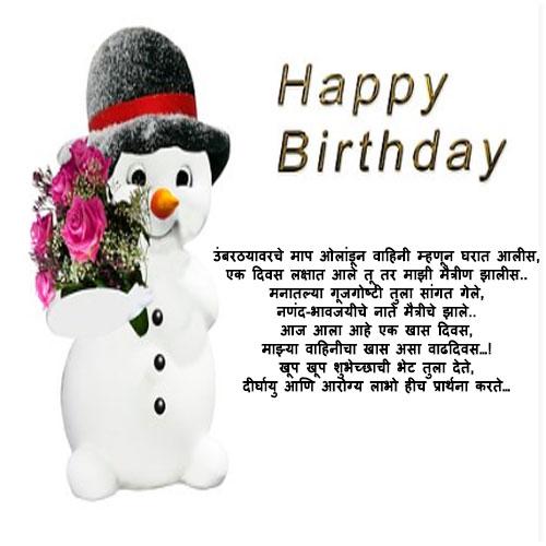 Birthday images marathi vahinee