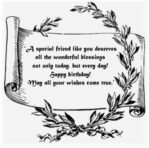 Birthday messages for a best friend with images